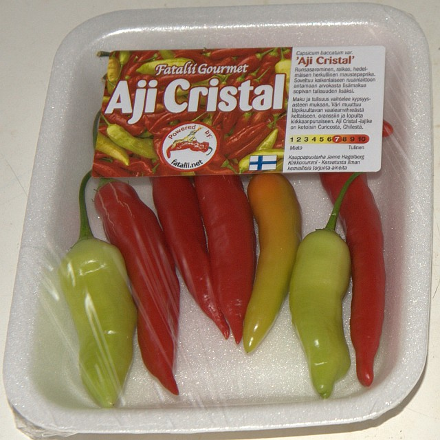 Aji Cristal -package