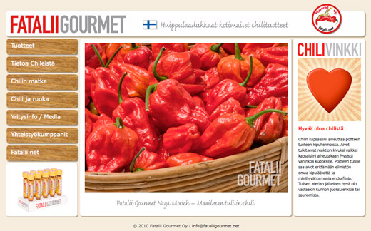 Fatalii Gourmet - new site launched!